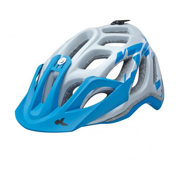 KED Helm Trailon paerl blue matt