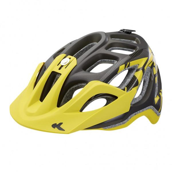 KED Helm Trailon black yellow matt