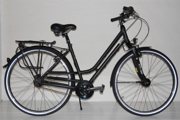 Gudereit Cityrad Comfort 8.0 Damen 48 cm matt-schwarz