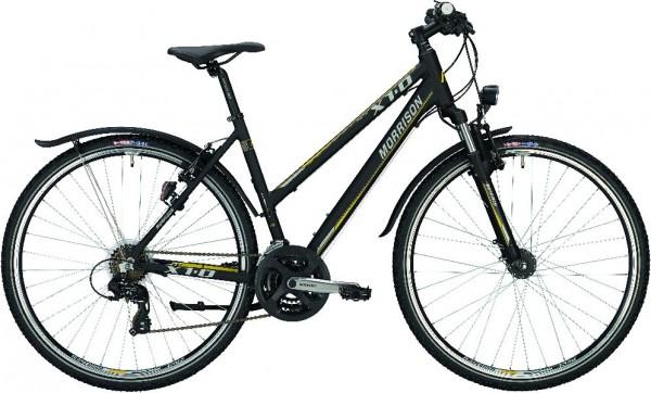 Morrison Crossrad X 1.0 Damen-Rahmen Rahmenhöhe 52 cm (L) Matt Black