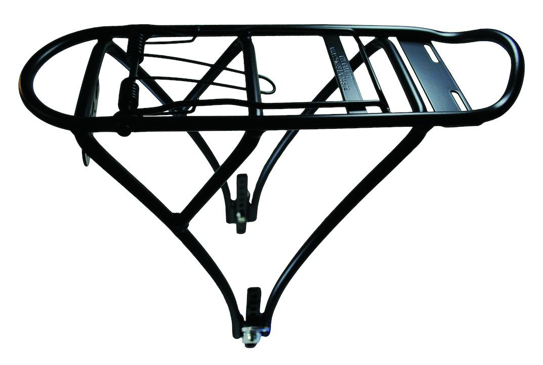 schwarz-matt MATRIX Fahrrad Gepäckträger CA16