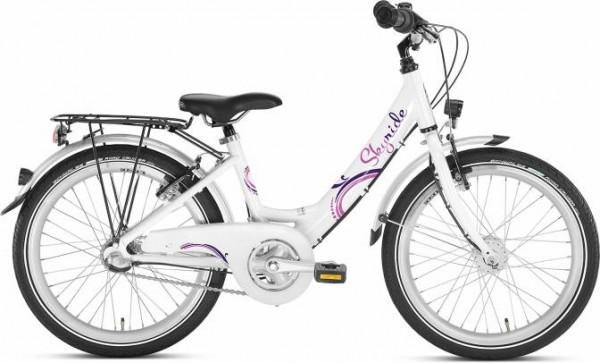 Puky Kinderrad Skyride 20-3 weiß/pink