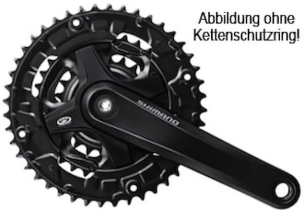 Shimano Kettenradgarnitur FC-M351 44-32-22 Zähne schwarz