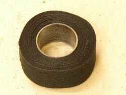 Lenkerband Textil schwarz