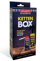 Atlantic Ketten Box Kettenreiniger 200 ml - Kettenfett PTFE 150 ml
