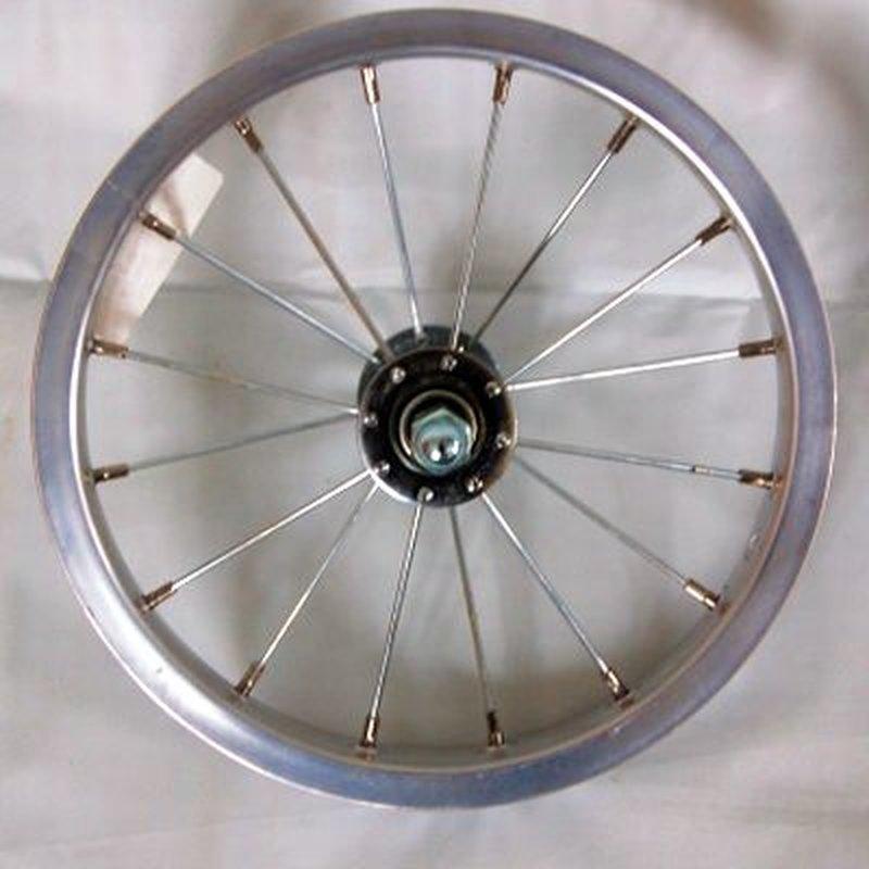 24 Zoll Vorderrad Alu mit Shimano Nabendynamo DHC30003 Vollachse silber
