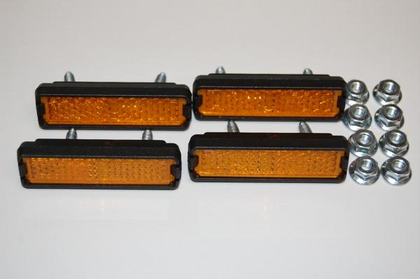 Pedalreflektoren 4 Stück