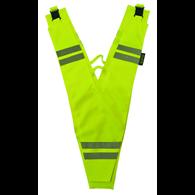 WOWOW Sicherheitsdreieck Collar for Adults gelb