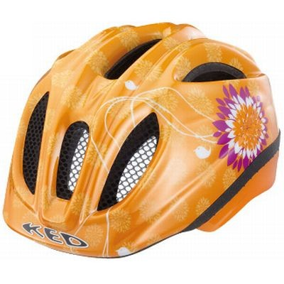 KED Helm Meggy S 46-51 orange flower