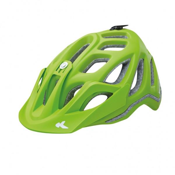 KED Helm Trailon green matt